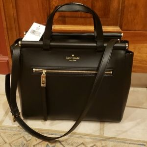 Auth Kate Spade Royal Place Small Cherise Satchel